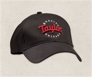 Taylor Ware 00378 Cap, Black with Red Logo