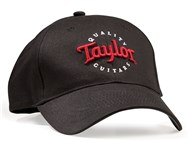 Cap, Black with Red Logo