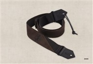 Taylor Ware 65123 Suede and Poly Guitar Strap, Brown