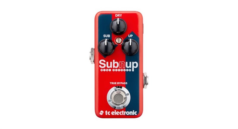 Sub 'N' Up Mini Octaver front