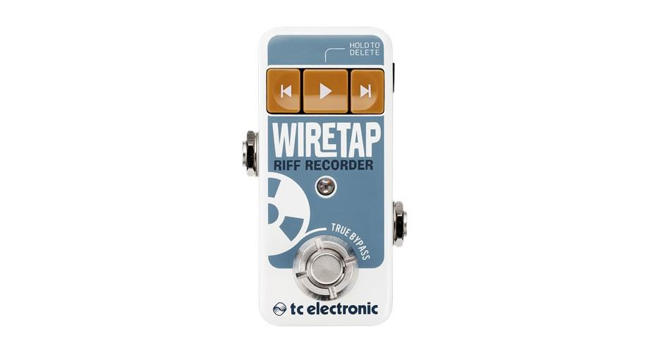wiretap front view