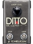 TC Helicon Ditto Mic Looper, Ex-Display