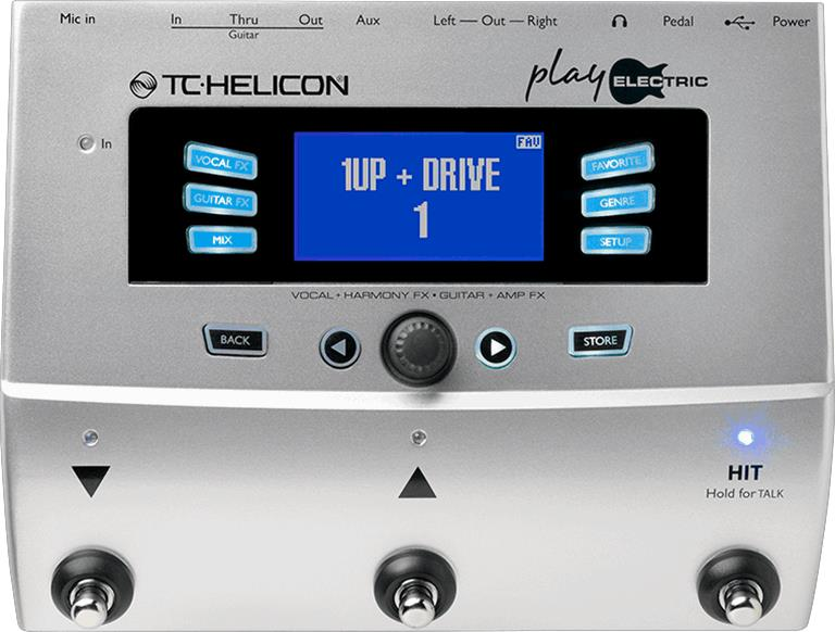 TC Helicon Play Electric Vocal and Guitar Multi-FX