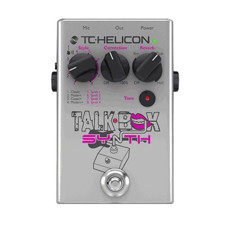 TC Helicon Talkbox Synth main