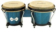 Toca Synergy Wood Bongos (Bahama Blue)