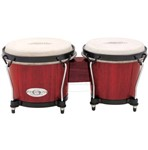 Toca Synergy Wood Bongos (Rio Red)