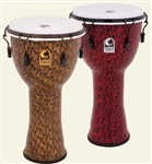 Toca Freestyle II Mechanically Tuned Djembe (12in, Red Mask)