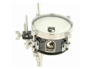 Toca Acrylic Mini Timbales (8in, Smoke)