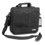 UDG CourierBag Deluxe 17in Black/Orange Inside