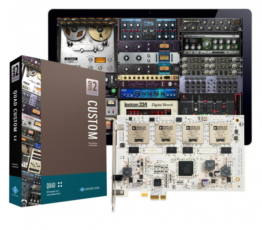 Universal Audio UAD-2 Quad Custom PCIe Main