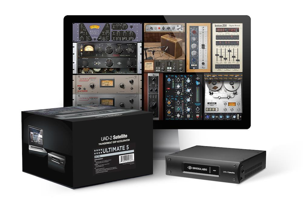 Universal Audio UAD-2 Satellite Thunderbolt OCTO