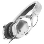 V-MODA XS On-Ear Headphones White Silver