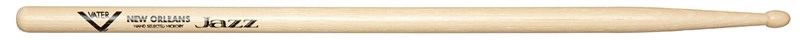 Vater New Orleans Jazz Drumsticks, Wood Tip
