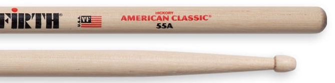 Vic Firth 55A Wood Tip Drumsticks