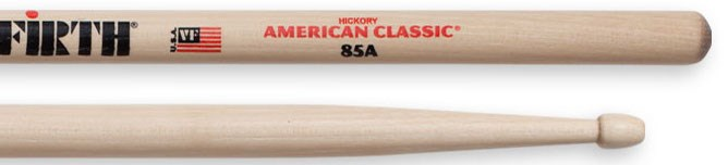 Vic Firth  85A Wood Tip Drumsticks