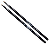 Vic Firth American Classic 5A Wood Tip Drumsticks (Black)