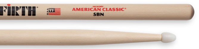 Vic Firth 5B Nylon Tip Drumsticks