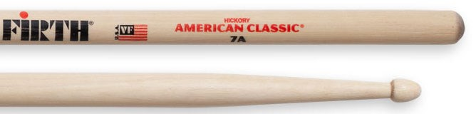 Vic Firth 7A Wood Tip Drumsticks