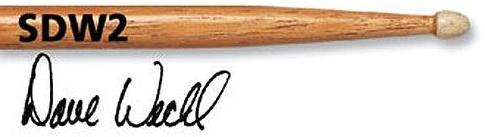 Vic Firth Signature Dave Weckl Evolution Wood Tip Drumsticks