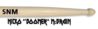 Vic Firth Signature Nicko McBrain Wood Tip Drumsticks