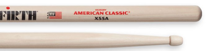 Vic Firth Extreme 55A Wood Tip Drumsticks