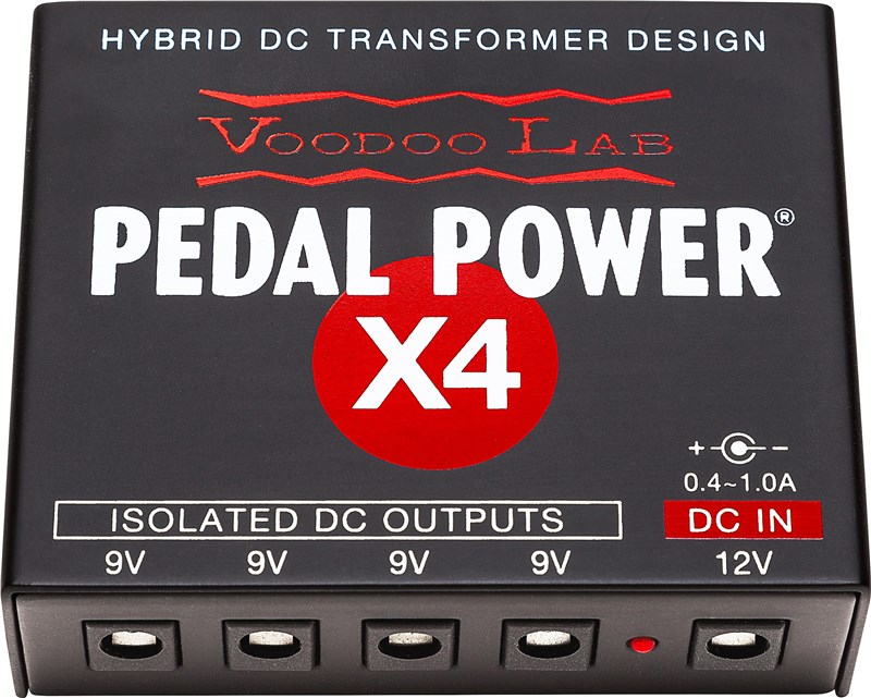 Voodoo Lab Pedal Power X4 Main