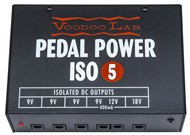 Voodoo Lab PIEX Pedal Power ISO-5 Pedal Board Power Supply
