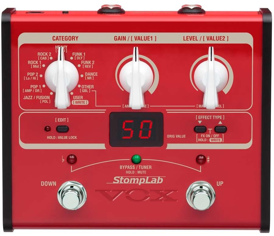 Vox StompLab IB Modeling Bass Effects Processor