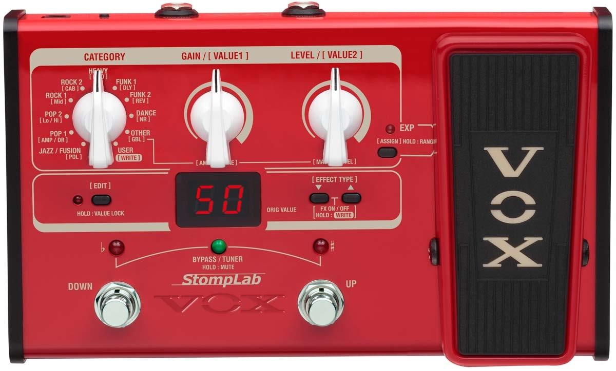 Vox StompLab IIB Modeling Bass Effects Processor