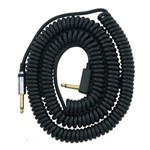 Vox VCC90 Vintage Coiled Instrument Cable, 9m, Black