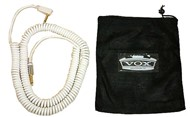 Vox VCC90 Vintage Coiled Instrument Cable, 9m, White
