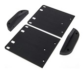 Warwick LWA Rack Ears (Black)