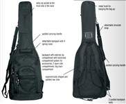 RockBag RB 20456 B Cross Walker Gig Bag, Electric, Black