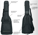 RockBag RB 20510 B Deluxe Gig Bag, Acoustic Bass, Black