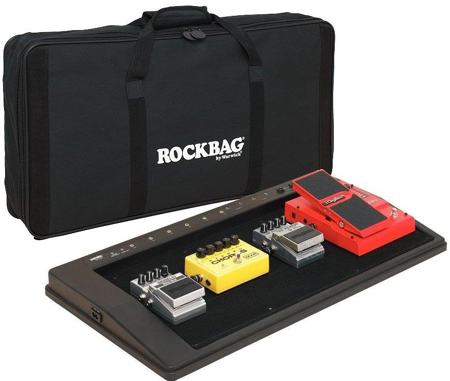 Warwick RB23100B/B FX Pedal Board with Rock Bag