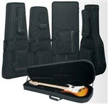 RockCase RC 20920 B Premuim Line Soft-light Case for X-Shaped Guitars
