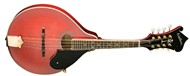 Washburn M1SDL Bluegrass Mandolin, Trans Red