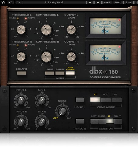 Waves dbx 160 Compressor/Limiter