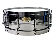 WorldMax Black Brass Snare, 14x6.5, main