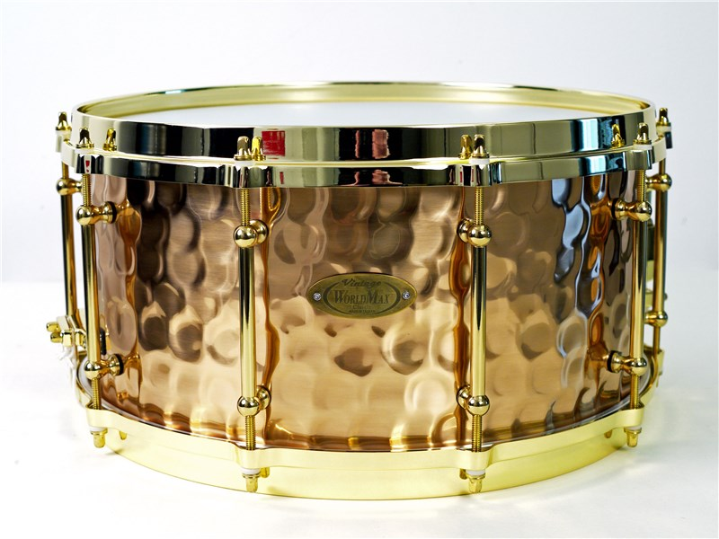 WorldMax Bronze Hammered Snare