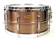 Red Copper Brushed Brass Snare,
