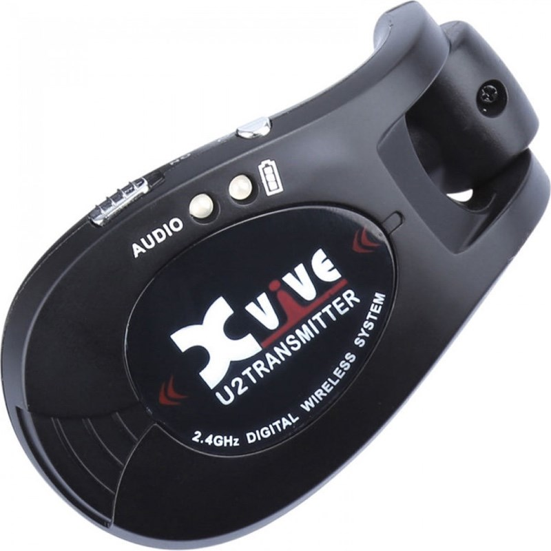 Xvive XU2T Wireless Instrument Transmitter Black