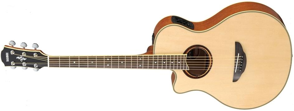 yamaha apx700ii electro acoustic natural left handed