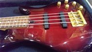Yamaha BB604 Active 4 string Bass in Black Cherry (Pre-Owned)(Secondhand)