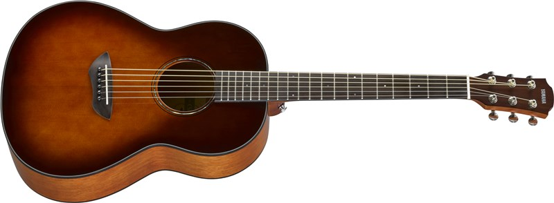 Yamaha CSF1M Tobacco Brown Sunburst Angle