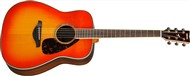 Yamaha FG830 Dreadnought Acoustic, Autumn Burst