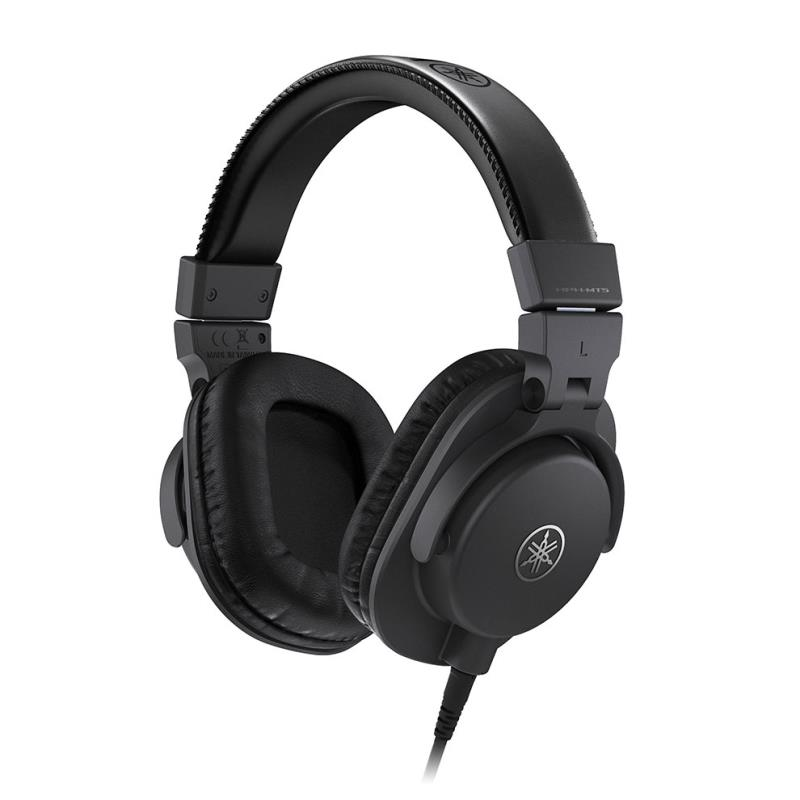 yamaha hph mt5 studio monitor headphones black. Black Bedroom Furniture Sets. Home Design Ideas