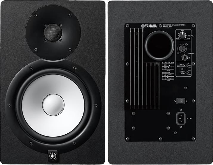 Yamaha Hs8 Active Monitors Gak