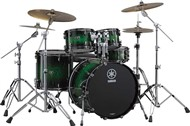 Yamaha Live Custom Fusion 4 Piece Shell Pack (Emerald Shadow Sunburst)
