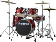 Yamaha Manu Katche Hipgig Junior 5 Piece Shell Pack w/Hardware (Cranberry Red)